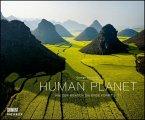 Human Planet 2021 - Luftaufnahmen von George Steinmetz mit informativen Texten - Querformat 58,4 x 48,5 cm - Spiralbindung