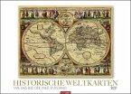Historische Weltkarten - Kalender 2021