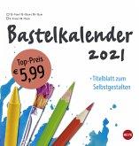 Bastelkalender 2021 mittel weiß