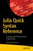 Julia Quick Syntax Reference (eBook, PDF)