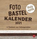 Bastelkalender Natur Holzoptik - Kalender 2021