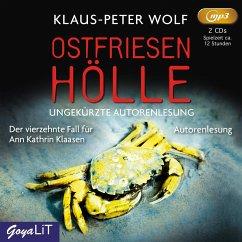 Ostfriesenhölle / Ann Kathrin Klaasen ermittelt Bd.14 (2 MP3-CDs) - Wolf, Klaus-Peter
