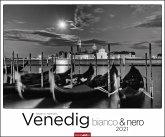 Venedig bianco/ nero Kalender 2021