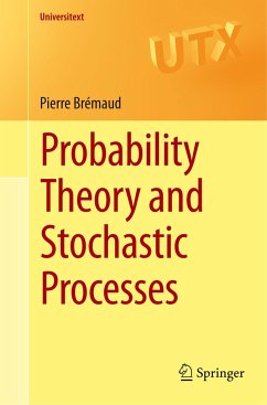 Probability Theory and Stochastic Processes - Brémaud, Pierre