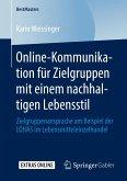 Online-Kommunikation für Zielgruppen mit einem nachhaltigen Lebensstil