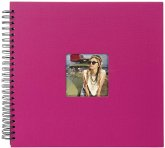 Goldbuch Living Magenta 36x32 50 schwarze S. Spiralalbum 25197