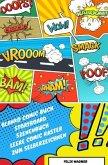 Blanko Comic Buch Storyboard Szenenbuch Leere Comic Raster zum Selberzeichnen