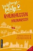 Lieblingsplätze Rheinhessen kulinarisch (eBook, ePUB)