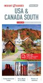 Insight Guides Travel Map USA & Canada South (Insight Maps)