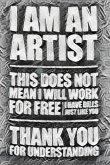Artist humourous Blank creative Journal