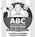 ABC - African American Musicians Coloring Book