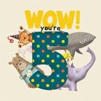 WOW! You're Five birthday book