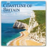 Coastline of Britain 2021, 16-month calendar