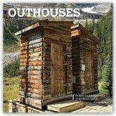 Outhouses - Toilettenhäuschen 2021 - 18-Monatskalender