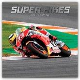 Superbikes 2021 - 18-Monatskalender