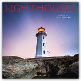 Lighthouses - Leuchttürme 2021 - 16-Monatskalender