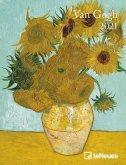 Van Gogh 2021 Buchkalender Deluxe