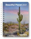 Beautiful Planet 2021 - Buchkalender - Taschenkalender - Fotokalender - 16,5x21,6