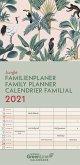 GreenLine Jungle 2021 Familienplaner - Wandkalender - Familien-Kalender