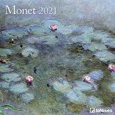 Monet 2021 Broschürenkalender