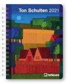 Ton Schulten 2021 Buchkalender Deluxe