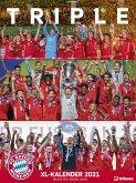 FC Bayern München XL Kalender 2021