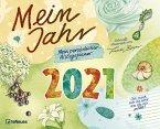 Mein Jahr 2021 - Mein praktischer Alltagsplaner - Wand-Kalender - Broschüren-Kalender