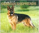 German Shepherds - For the love of - Deutsche Schäferhunde 2021 - 18-Monatskalender mit freier DogDays-App