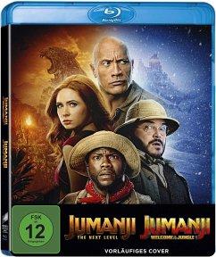 Jumanji: Willkommen im Dschungel & Jumanji : The Next Level (BD-2) - 2 Disc Bluray