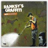 Banksy's Graffiti 2021 - 16-Monatskalender