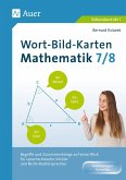 Wort-Bild-Karten Mathematik Klassen 7-8