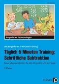 Täglich 5 Minuten Training: Schriftliche Subtraktion