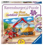 Ravensburger 05073 - my first outdoor puzzles, Meine Baustelle, 12 Teile