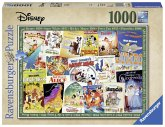 Ravensburger 19874 - Disney Vintage Movie Poster, Puzzle, 1000 Teile