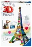 Eiffelturm Love Edition 3D (Puzzle)