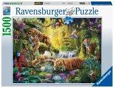 Ravensburger 16005 - Idylle am Wasserloch, Puzzle, 1500 Teile