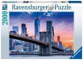 Ravensburger 16011 - Von Brooklyn nach Manhatten, Puzzle, 2000 Teile