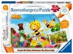 Ravensburger 00047 - tiptoi® Puzzle für kleine Entdecker: Biene Maja, 2x24 Teile