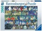 Ravensburger 16010 - Der Giftschrank, Puzzle, 2000 Teile