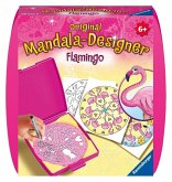Mini Mandala-Designer Flamingo