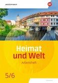 Heimat und Welt 5 / 6. Arbeitsheft. Thüringen