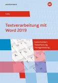 Textverarbeitung mit Word 2019. Schülerband