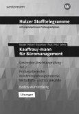 Holzer Stofftelegramme Kauffrau/-mann für Büromanagement 2. Gestreckte Abschlussprüfung. Lösungen. Baden-Württemberg