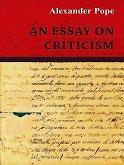 An Essay on Criticism (eBook, ePUB)