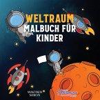 Weltraum Malbuch für Kinder