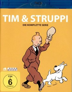 Tim & Struppi TV-Serien Box BLU-RAY Box