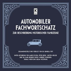 Automobiler Fachwortschatz zur Beschreibung historischer Fahrzeuge - Tutt, Gundula