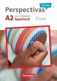 Perspectivas contigo A2 - Kurs- und Übungsbuch mit Vokabeltaschenbuch