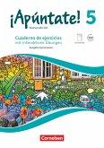 ¡Apúntate! - Ausgabe 2016 - Band 5 - Cuaderno de ejercicios. Mit eingelegtem Förderheft und Audios online