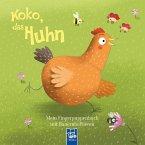 Mein Fingerpuppenbuch mit Bauernhoftieren - Koko, das Huhn (Mängelexemplar)